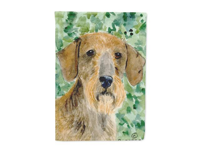 Dachshund Flag Canvas House Size