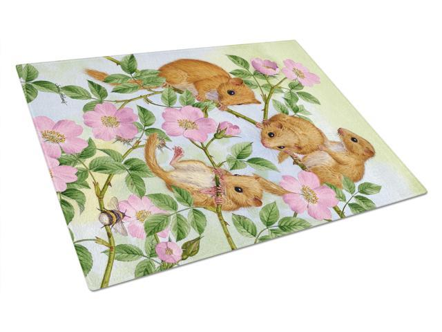 Dormice Dormouse Glass Cutting Board Large ASA2136LCB
