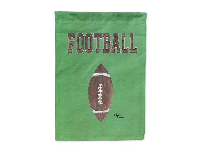 Football Flag Canvas House Size