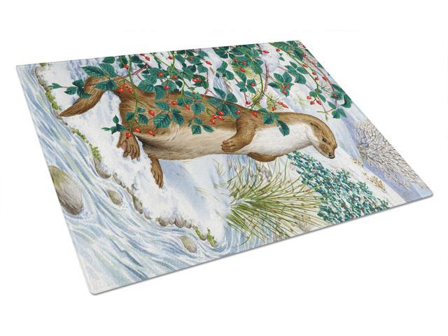 Otter Glass Cutting Board Large ASA2047LCB