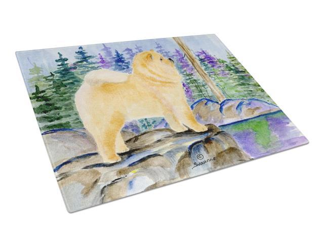 Chow Chow Glass Cutting Board Large