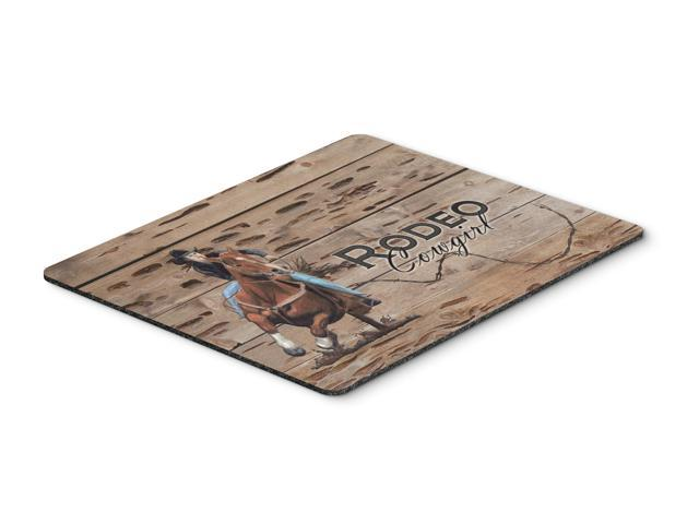 Rodeo Cowgirl Barrel Racer Mouse Pad, Hot Pad or Trivet SB3055MP
