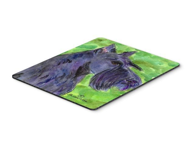 Scottish Terrier Mouse Pad / Hot Pad / Trivet
