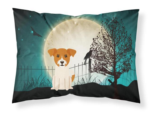 Halloween Scary Jack Russell Terrier Fabric Standard Pillowcase BB2298PILLOWCASE