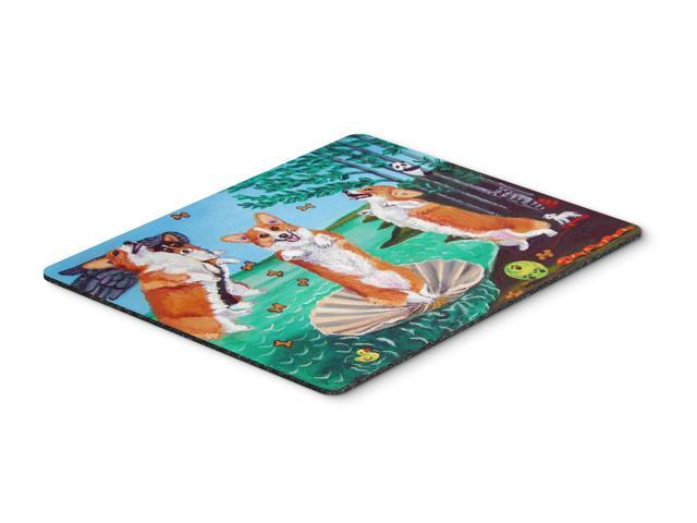 Corgi Birth of Venus Mouse Pad, Hot Pad or Trivet 7319MP