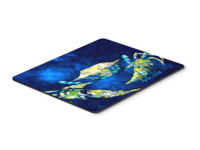 Crab Tealy Mouse Pad, Hot Pad or Trivet
