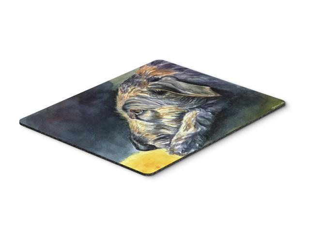 Irish Wolfhound Sleeper Mouse Pad, Hot Pad or Trivet 7353MP