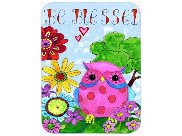 Be Blessed Owl Glass Cutting Board Large PJC1026LCB