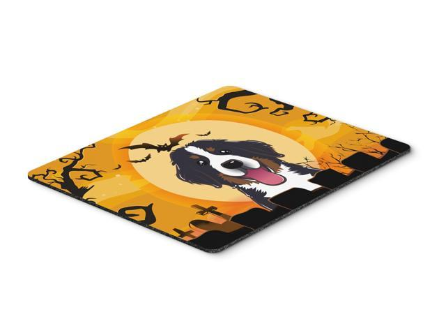 Halloween Bernese Mountain Dog Mouse Pad, Hot Pad or Trivet BB1795MP