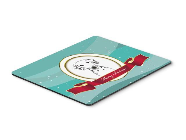 Dalmatian Merry Christmas Mouse Pad, Hot Pad or Trivet BB1520MP