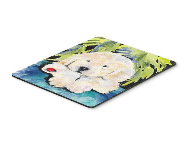 Golden Retriever Mouse Pad / Hot Pad / Trivet
