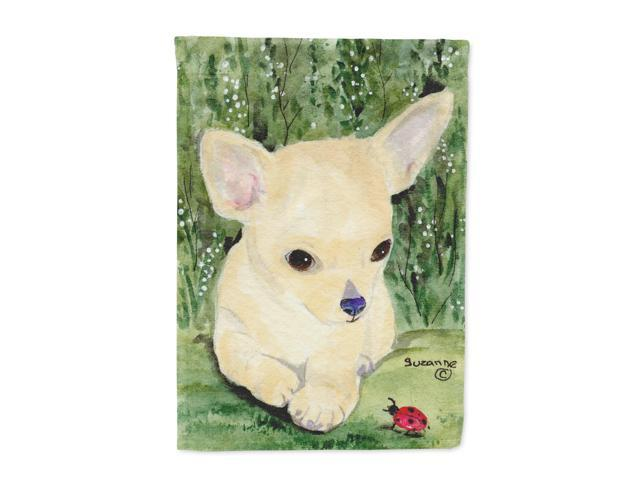 Chihuahua Flag Canvas House Size
