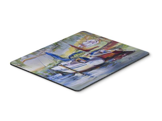 Lucky Dream Sailboat Mouse Pad, Hot Pad or Trivet JMK1053MP