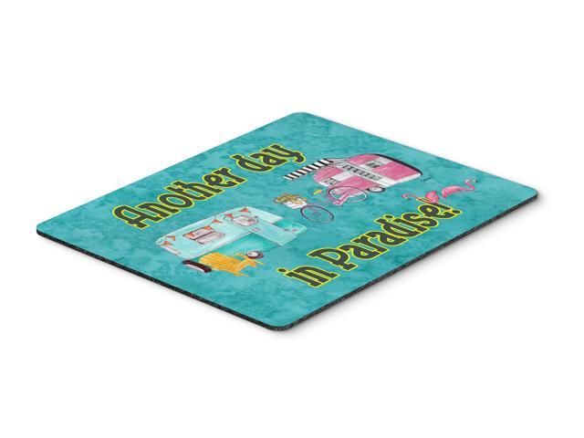 Another Day in Paradise Mouse Pad, Hot Pad or Trivet