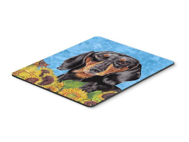 Dachshund Mouse Pad, Hot Pad or Trivet