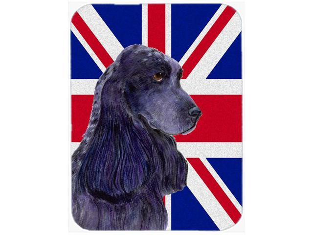 Cocker Spaniel with English Union Jack British Flag Mouse Pad, Hot Pad or Trivet SS4913MP