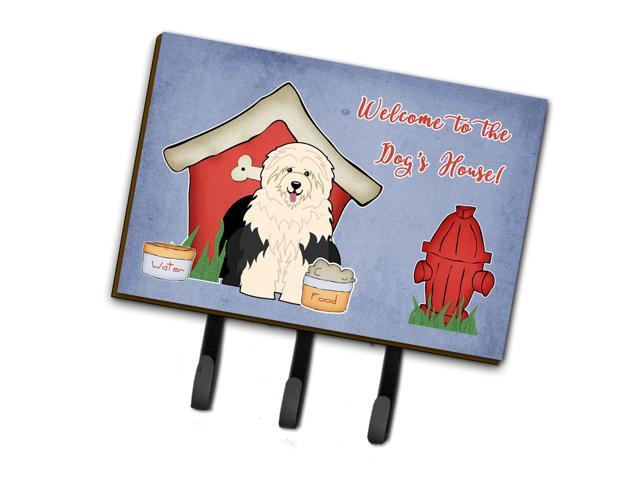 Dog House Collection Old English Sheepdog Leash or Key Holder BB2850TH68