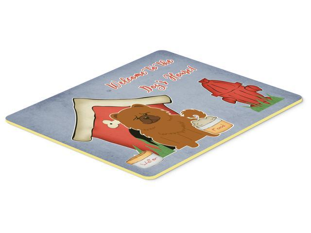 Dog House Collection Chow Chow Red Kitchen or Bath Mat 24x36 BB2896JCMT