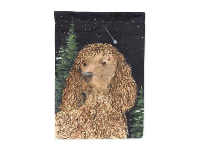 American Water Spaniel Flag Canvas House Size