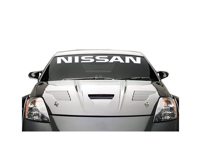 Nissan Windshield Banner Decal