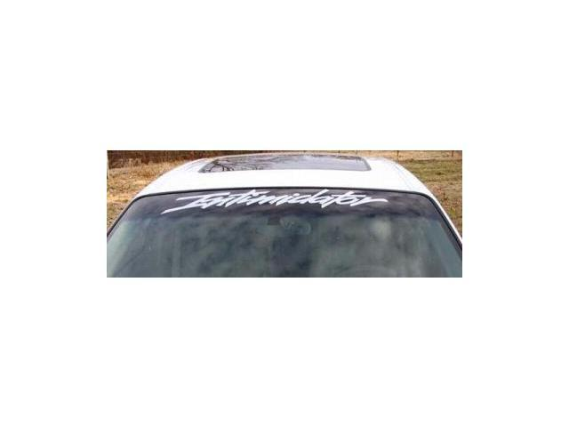 Monte Carlo Intimidator Windshield Banner Decal