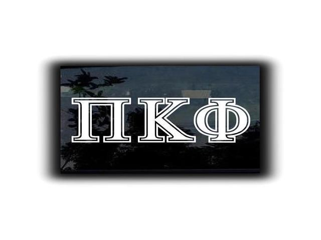 Pi Kappa Phi Custom Greek Letters 7 Inch