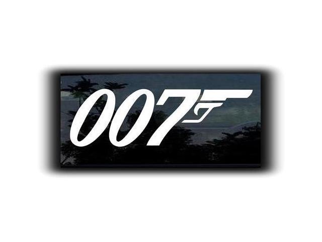 James Bond 007 Decal 5.5 inch