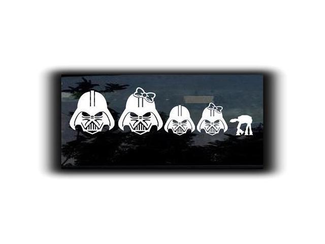 Star Wars Darth Vader Family Decal 7 inch