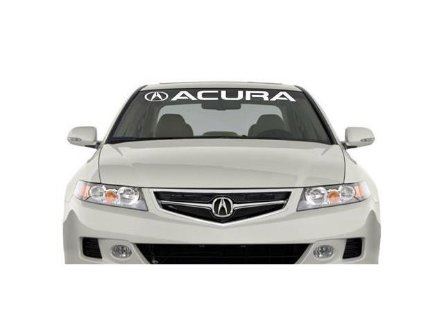 Acura II Windshield Banner Decal