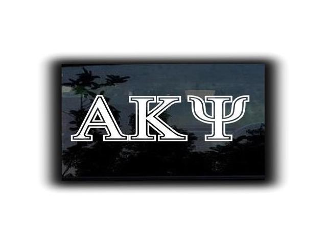 Alpha Kappa Psi Fraternity Decal 5.5 inch