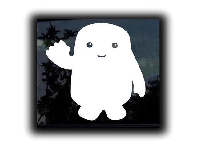 Dr Who Adipose Inspired Decal 7 inch