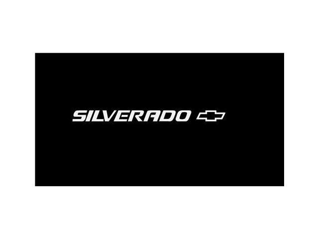 Chevrolet Silverado III Windshield Banner Decal