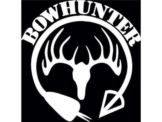 Bow hunter Hunting Antlers Hunting Decals 5 Inch