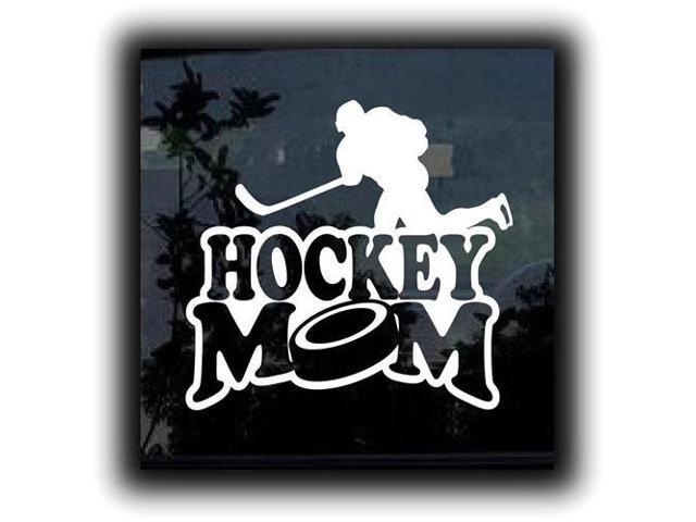 Hockey Mom Stickers For Cars 5 Inch