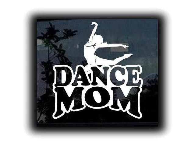 Dance Mom II Ballet Stickers For Cars 7 Inch