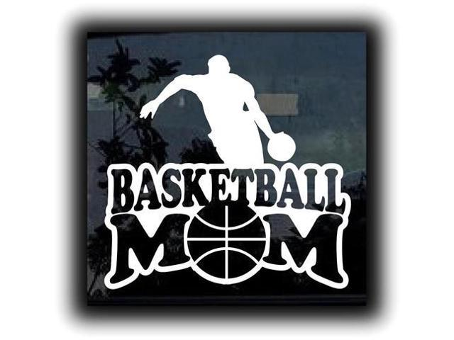 Basketball Mom Custom 3 Window Decal Sticker 7 Inch