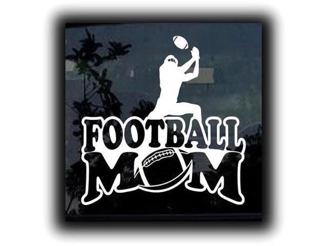 Football Mom 1 Stickers For Cars 5 Inch