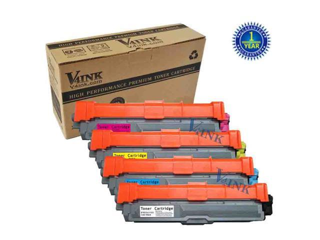 4PK TN221BK TN225C TN225M TN225Y Color Toner Cartridge Set ...