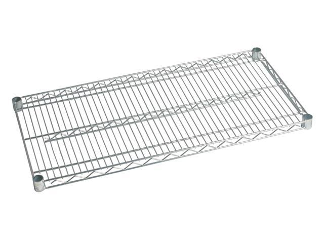 18 Deep X 42 Wide Individual Stainless Wire Shelf