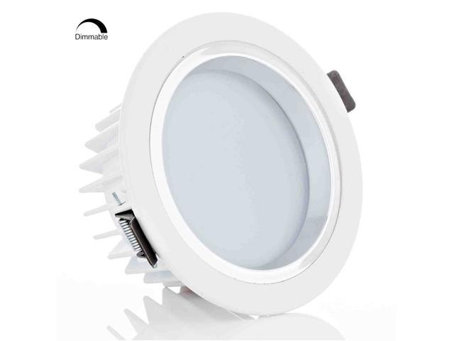 led 12w recessed lighting fixture ceiling light dimmable. Black Bedroom Furniture Sets. Home Design Ideas