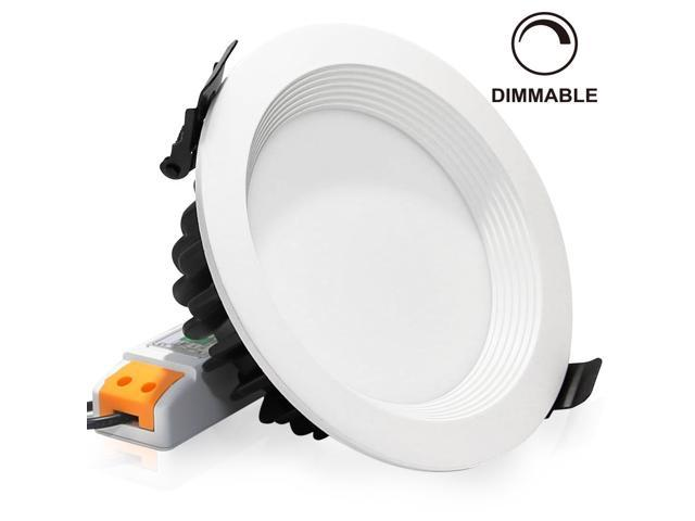 15Watt LED Recessed Lighting Fixture Ceiling Light Dimmable Downlight Replace