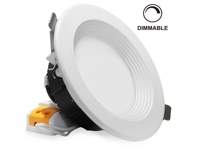 12W LED Warm White Recessed Lighting Fixture Ceiling Light Dimmable Downlight