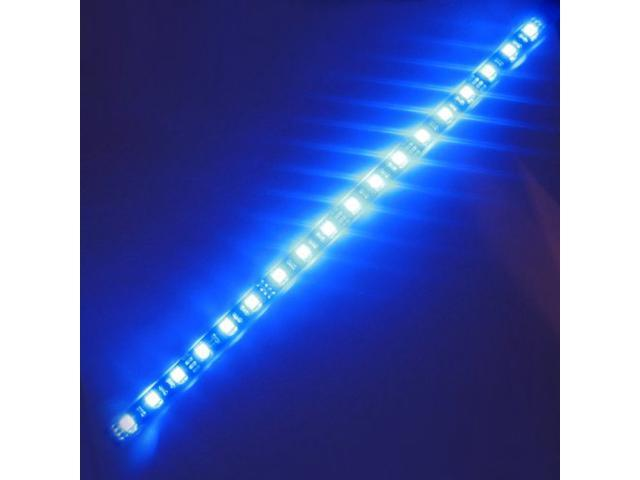 Super bright 1ft 30cm blue waterproof flexible led strip lights super bright 1ft 30cm blue waterproof flexible led strip lights 5050 smd 18leds mozeypictures Image collections