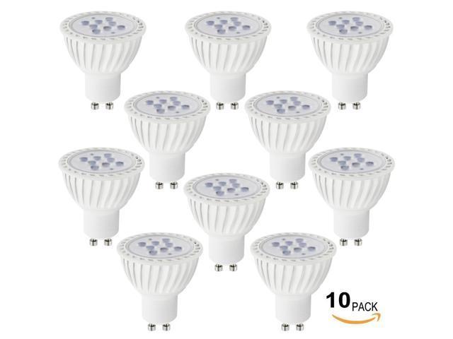 Lot of 10 110v 7w gu10 led bulb 5000k daylight led spotlight 60w lot of 10 110v 7w gu10 led bulb 5000k daylight led spotlight 60w equivalent aloadofball Image collections
