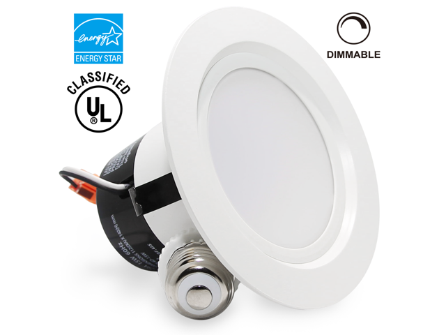 15watt 4inch energy star ullisted dimmable retrofit led recessed lighting fixture