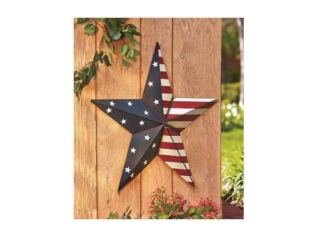 24 americana star decor stars and stripes. Black Bedroom Furniture Sets. Home Design Ideas