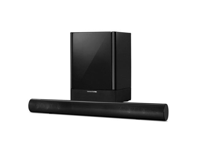 harman kardon sb 16 home theater system w 2 1 ch soundbar wireless subwoofer. Black Bedroom Furniture Sets. Home Design Ideas