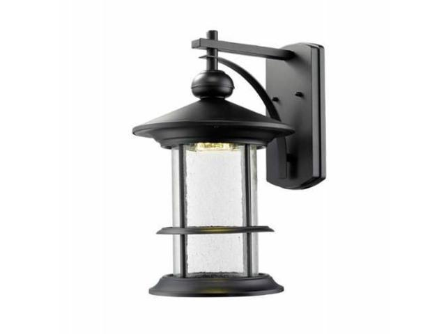 Outdoor LED Wall Light with Black Frame