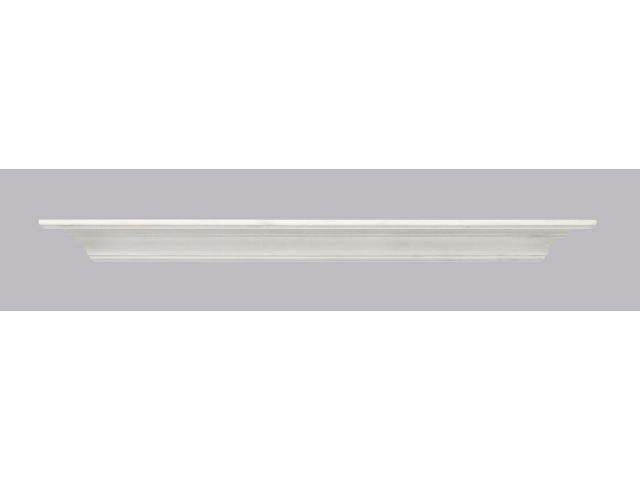 Pearl Mantel Crestwood MDF Shelf In White Paint - 72 Inches