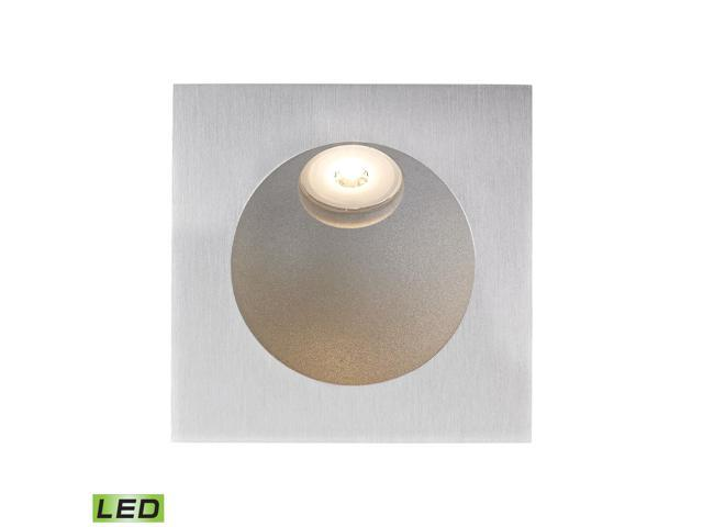 Zone LED Step Light In Aluminum